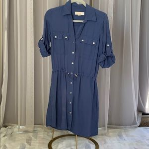 Michael Kors Button Down Work Dress